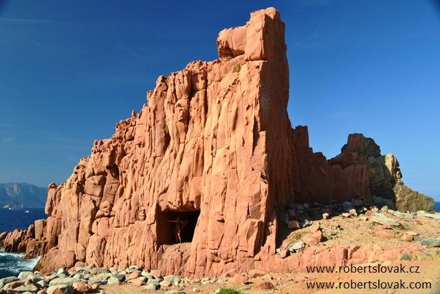 Arbatax, Red Rocks, Sardinie, Sardinia, Sardegna