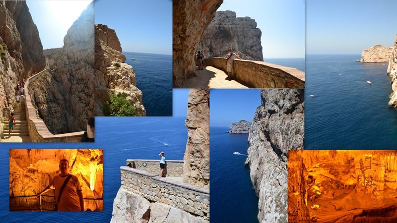 Capo Caccia, Grotta di Nettuno, Sardinie, Sardinia, Sardegna