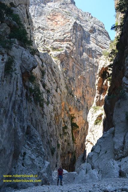 Gola di Gorroppu, Sardinie, Sardinia, Sardegna