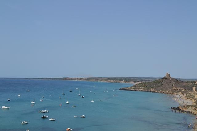 Sinis peninsula, Sardinie, Sardinia, Sardegna