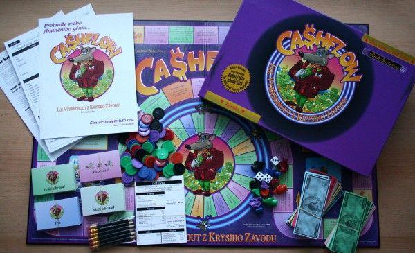 CashFlow hra pro 2-7 hráčů, finanční gramotnost, finanční inteligence, cash flow hra, cashflow,
