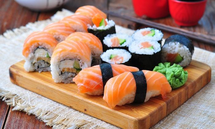 Japonská kuchyně je zdraví prospěšná.