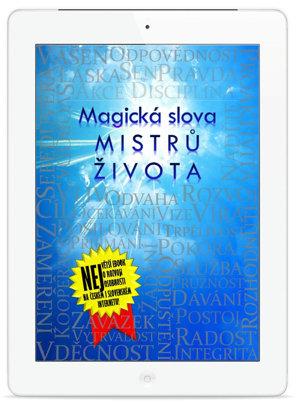 Magická Slova Mistrů Života, slova, magická slova, život, ebook
