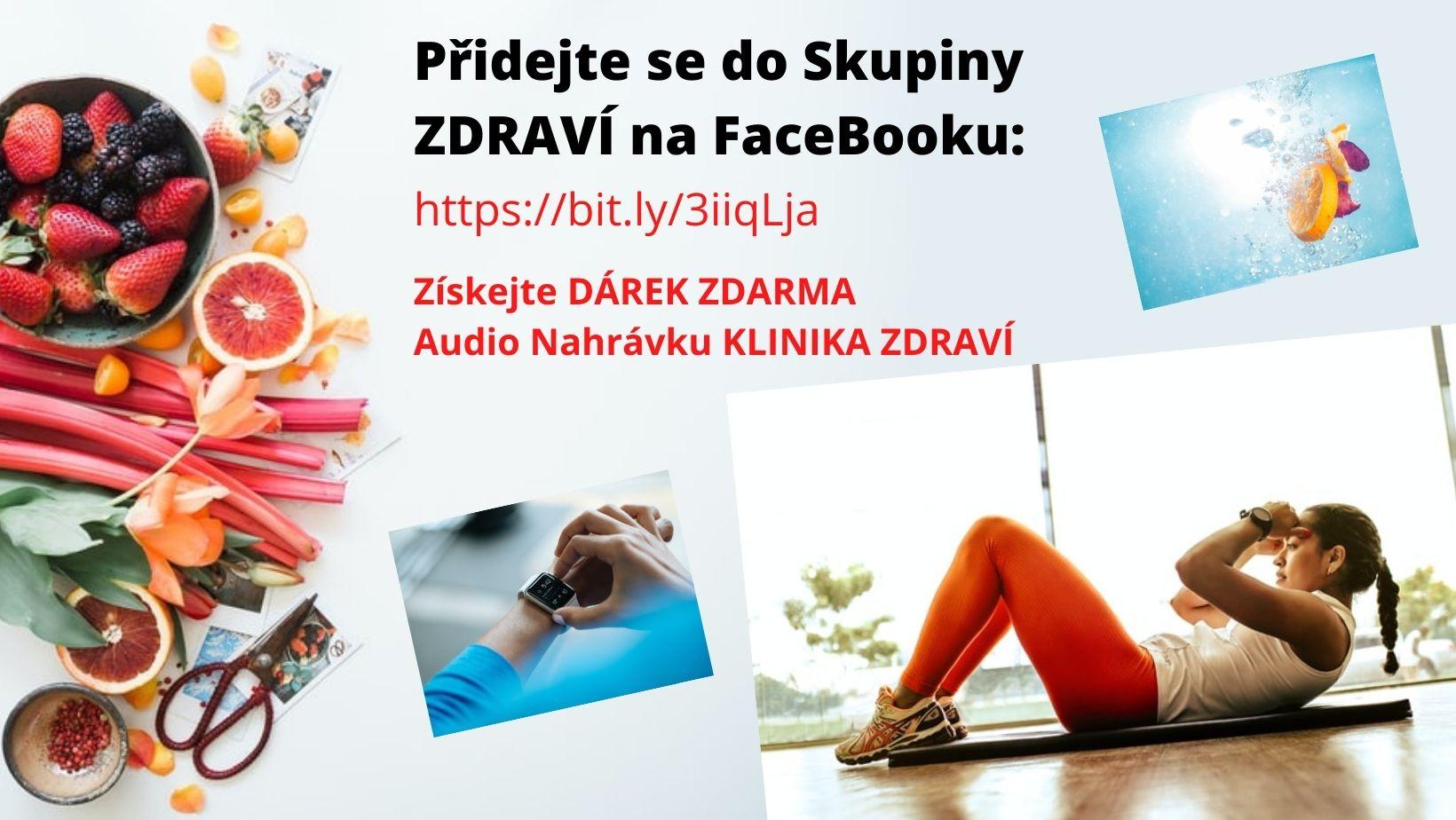 zdraví, zdravý životní styl, zásady, skupina zdraví, facebook zdraví